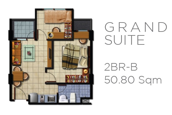 Unit GRAND SUITES Kebayoran Apartment