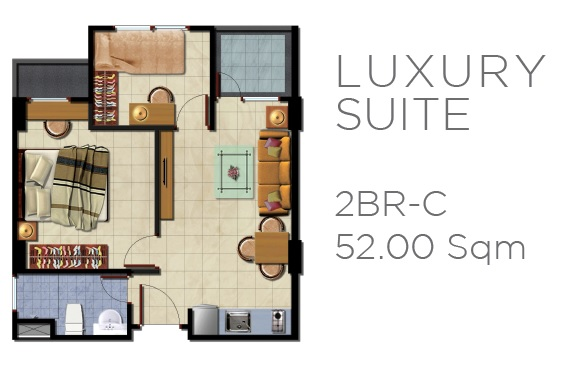Unit LUXURY SUITE Kebayoran Apartment